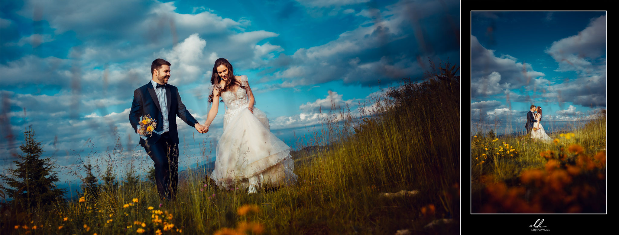 Colaj 03 - Trash the Dress - Cosmina si Ionut
