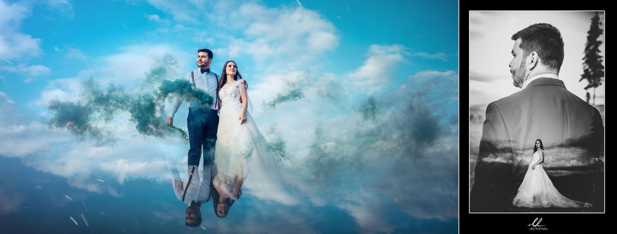 Colaj 06 - Trash the Dress - Cosmina si Ionut